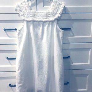 White Madewell Fringe dress
